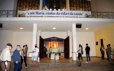 Em missa com bênção com o Santíssimo, Dom Adimir encerra sua primeira Romaria em Erexim