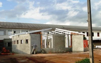 Em breve, Capela da Reconciliação receberá a cobertura (26/7/18)