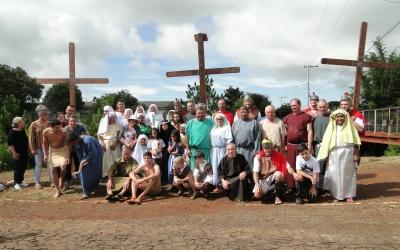 Encenação da Paixão de Cristo no Bairro São Vicente de Paulo contempla Campanha da Fraternidade