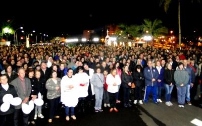Romaria 2017- 4º dia - noite