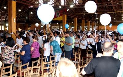 Extraordinária festa de leigos da Diocese de Erexim na solenidade de Cristo Rei
