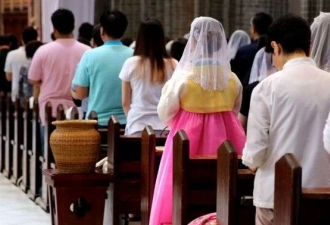 Católicos na Coreia aumentaram...