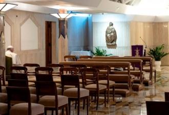 Transmissão da Missa na Santa ...