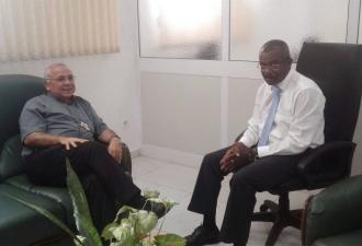 São Tomé e Príncipe. Igreja pr...