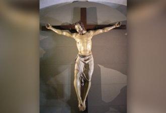 Legnaia. Antigo crucifixo da i...