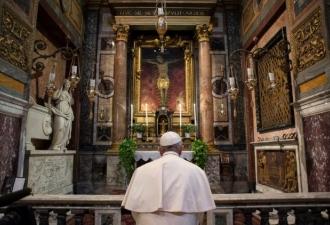 O Papa em San Marcello, um sin...