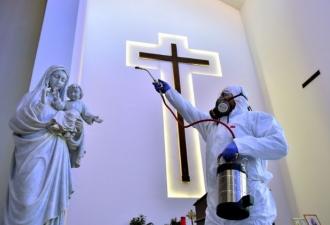 Jesuítas em quarentena no Líba...