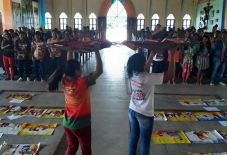 Evangelização na Amazônia avan...