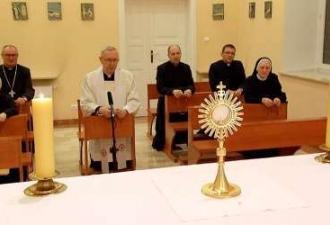 Igreja na Polônia rezará o Ter...