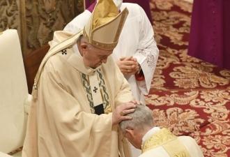 Papa: episcopado é o nome de u...